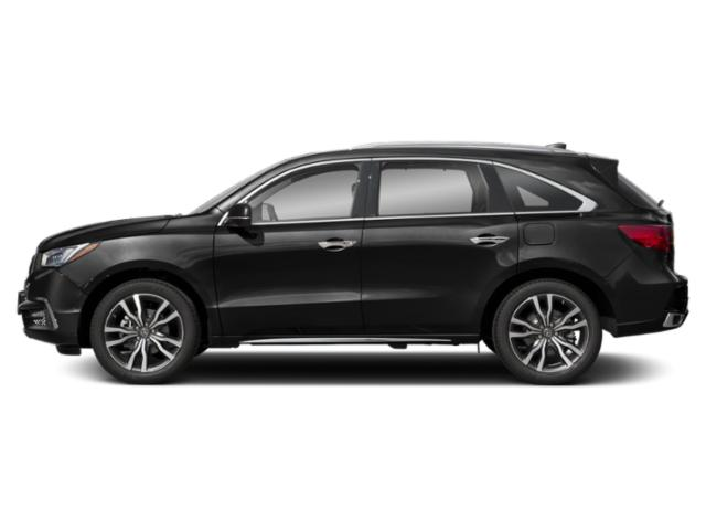 Majestic Black Pearl 2019 Acura MDX Pictures MDX FWD w/Advance/Entertainment Pkg photos side view