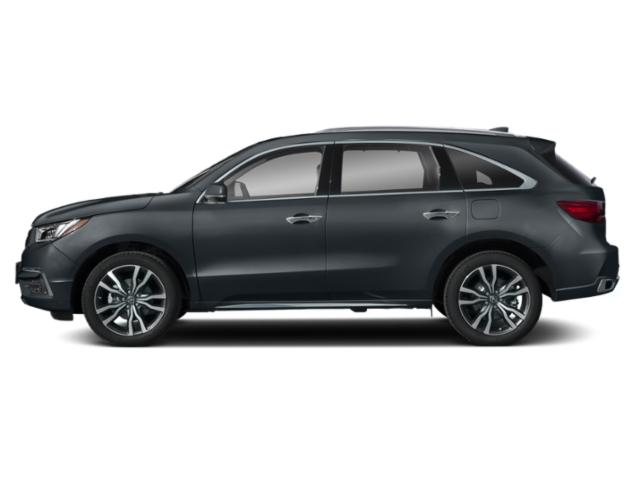 Gunmetal Metallic 2019 Acura MDX Pictures MDX SH-AWD w/Advance Pkg photos side view