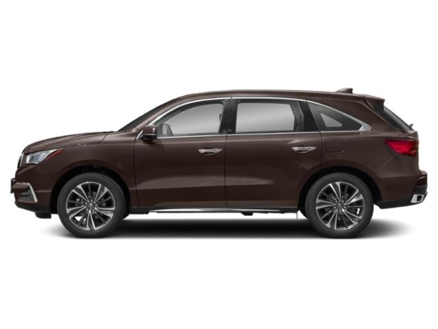 Canyon Bronze Metallic 2019 Acura MDX Pictures MDX FWD w/Technology Pkg photos side view