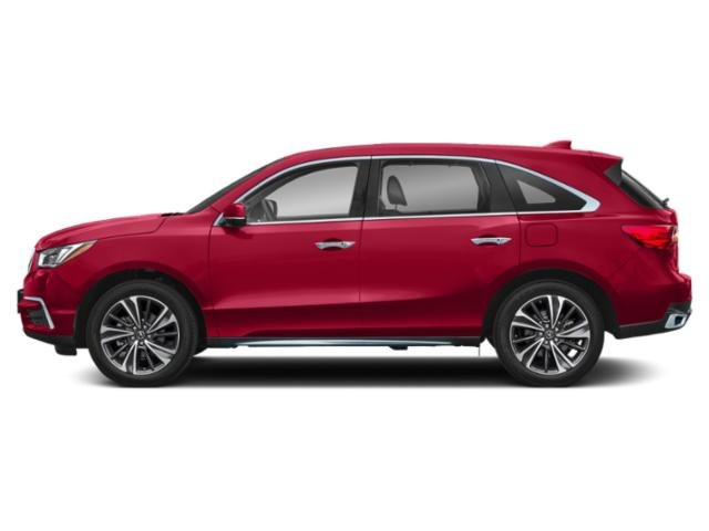 Performance Red Pearl 2019 Acura MDX Pictures MDX FWD w/Technology/Entertainment Pkg photos side view