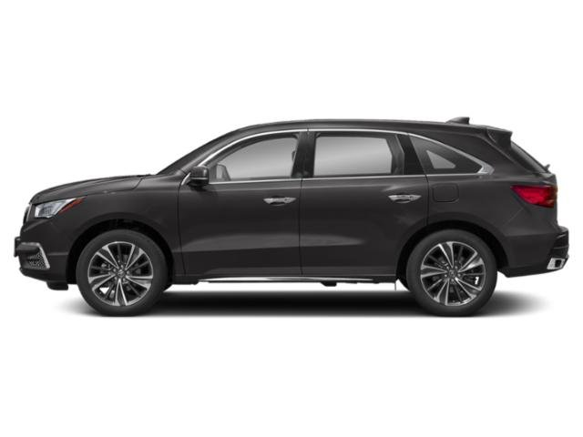 Modern Steel Metallic 2019 Acura MDX Pictures MDX FWD w/Technology Pkg photos side view