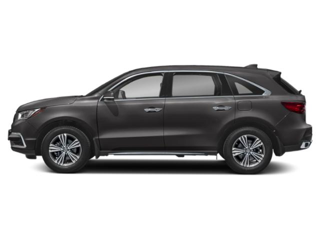 Modern Steel Metallic 2019 Acura MDX Pictures MDX FWD photos side view