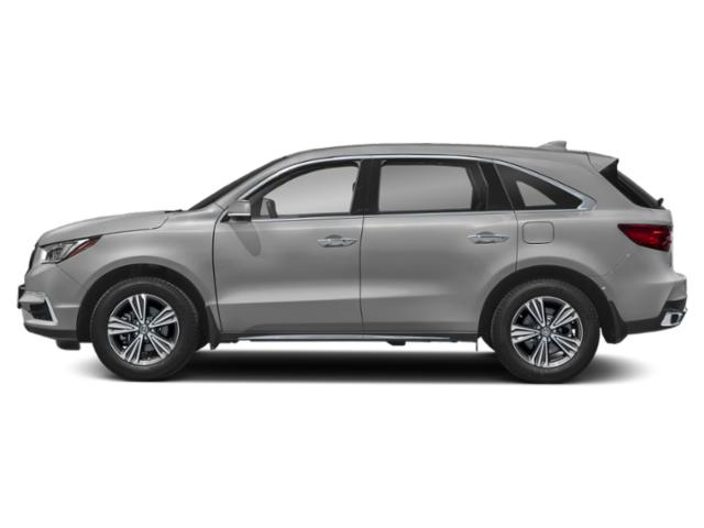 Lunar Silver Metallic 2019 Acura MDX Pictures MDX FWD photos side view