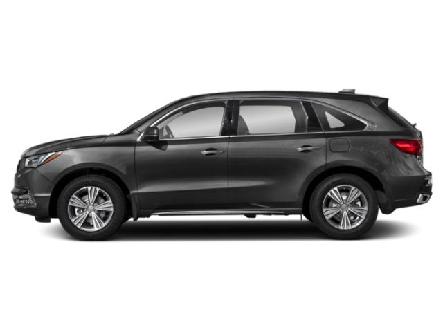 Modern Steel Metallic 2019 Acura MDX Pictures MDX SH-AWD photos side view