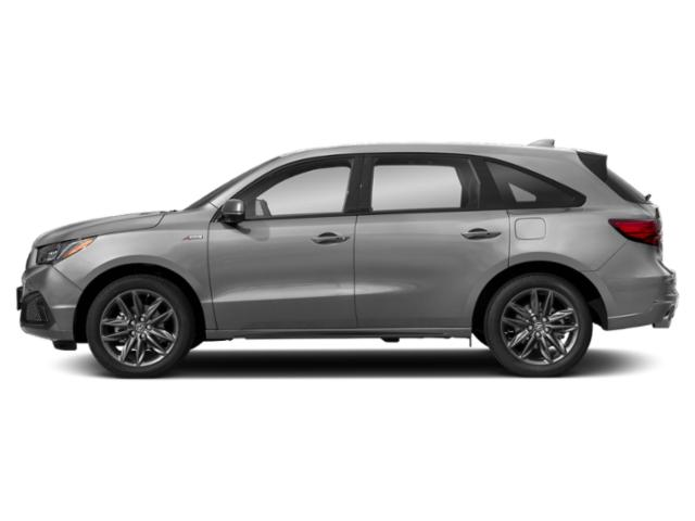 Lunar Silver Metallic 2019 Acura MDX Pictures MDX SH-AWD w/Technology/A-Spec Pkg photos side view
