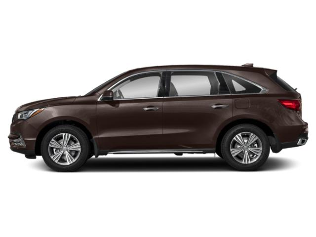 Canyon Bronze Metallic 2019 Acura MDX Pictures MDX SH-AWD photos side view