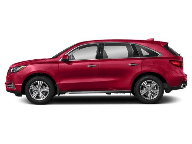 Performance Red Pearl 2019 Acura MDX Pictures MDX SH-AWD photos side view