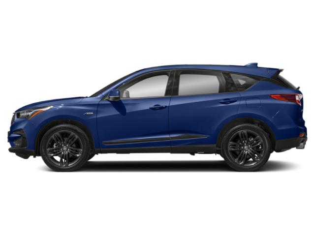 Apex Blue Pearl 2019 Acura RDX Pictures RDX AWD w/A-Spec Pkg photos side view