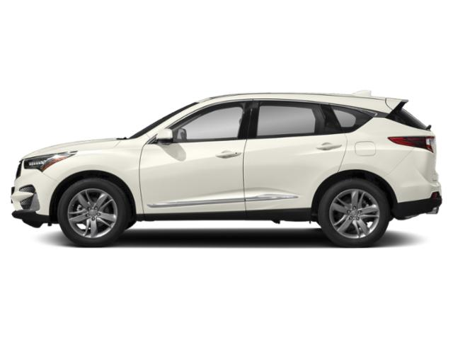 White Diamond Pearl 2019 Acura RDX Pictures RDX AWD w/Advance Pkg photos side view