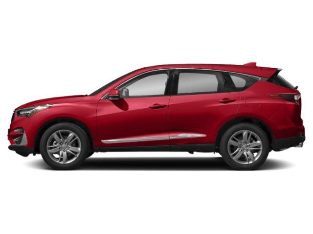 Performance Red Pearl 2019 Acura RDX Pictures RDX AWD w/Advance Pkg photos side view