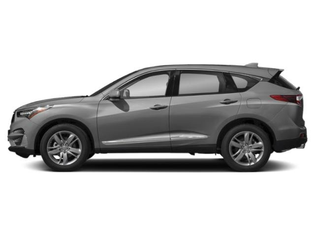Lunar Silver Metallic 2019 Acura RDX Pictures RDX AWD w/Advance Pkg photos side view