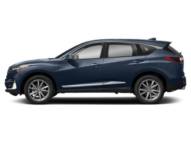 Fathom Blue Pearl 2019 Acura RDX Pictures RDX FWD w/Technology Pkg photos side view