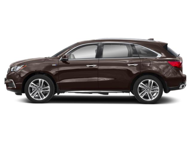 Canyon Bronze Metallic 2019 Acura MDX Pictures MDX SH-AWD Sport Hybrid w/Advance Pkg photos side view