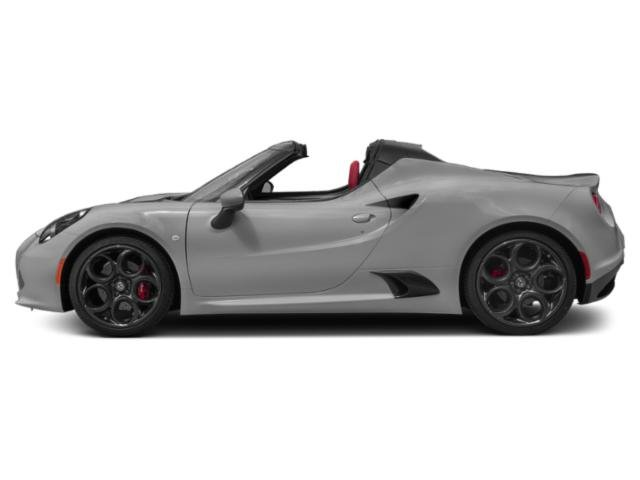 Basalt Gray Metallic 2019 Alfa Romeo 4C Spider Pictures 4C Spider Spider photos side view