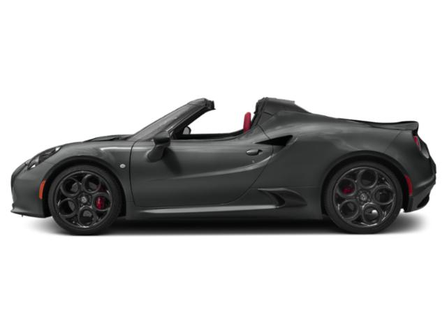 Black 2019 Alfa Romeo 4C Spider Pictures 4C Spider Spider photos side view