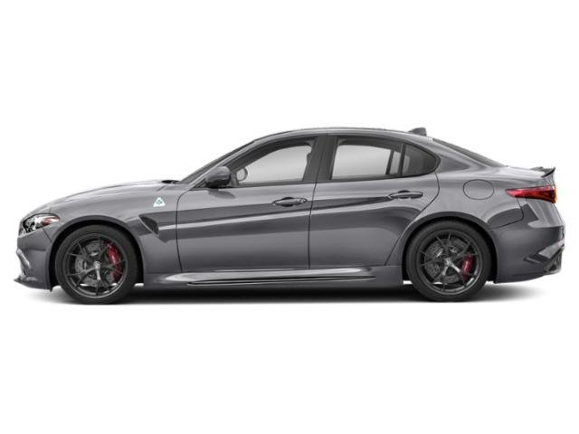 Silverstone Gray Metallic 2019 Alfa Romeo Giulia Pictures Giulia Ti Sport RWD photos side view