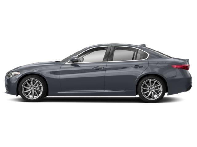 Stromboli Gray Metallic 2019 Alfa Romeo Giulia Pictures Giulia Ti Sport AWD photos side view