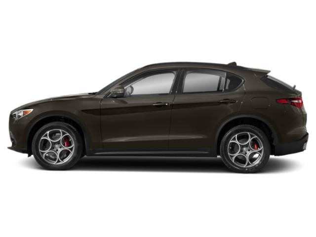 Basalto Brown Metallic 2019 Alfa Romeo Stelvio Pictures Stelvio Sport RWD photos side view