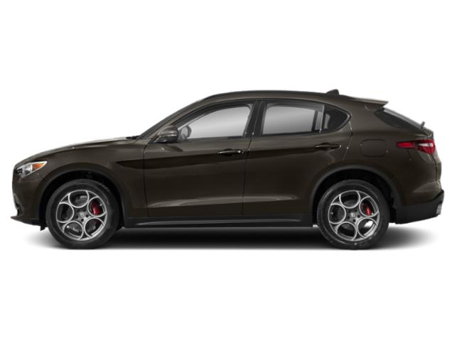 Basalto Brown Metallic 2019 Alfa Romeo Stelvio Pictures Stelvio Ti AWD photos side view