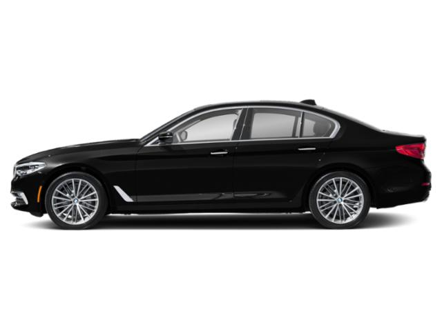 Jet Black 2019 BMW 5 Series Pictures 5 Series 540i xDrive Sedan photos side view