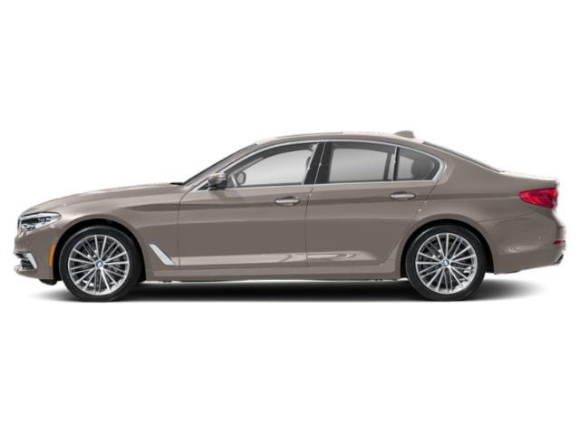 Cashmere Silver Metallic 2019 BMW 5 Series Pictures 5 Series 540i xDrive Sedan photos side view