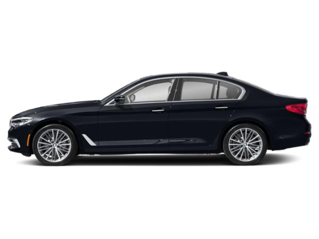 Imperial Blue Metallic 2019 BMW 5 Series Pictures 5 Series 540i xDrive Sedan photos side view