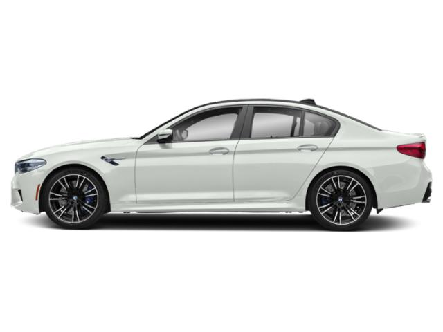 Alpine White 2019 BMW M5 Pictures M5 Sedan photos side view