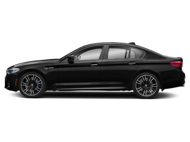 Black Sapphire Metallic 2019 BMW M5 Pictures M5 Sedan photos side view