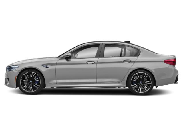 Donington Gray Metallic 2019 BMW M5 Pictures M5 Sedan photos side view