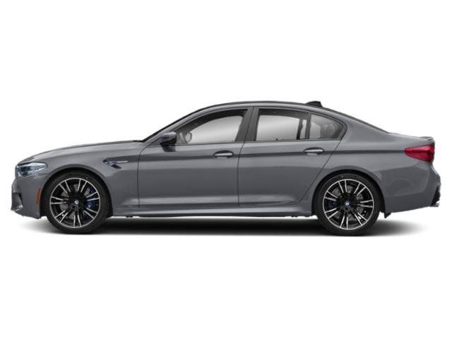 Bluestone Metallic 2019 BMW M5 Pictures M5 Sedan photos side view