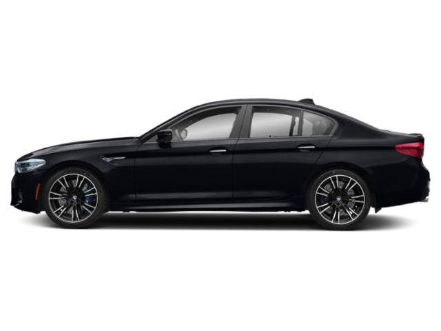 Azurite Black Metallic 2019 BMW M5 Pictures M5 Sedan photos side view