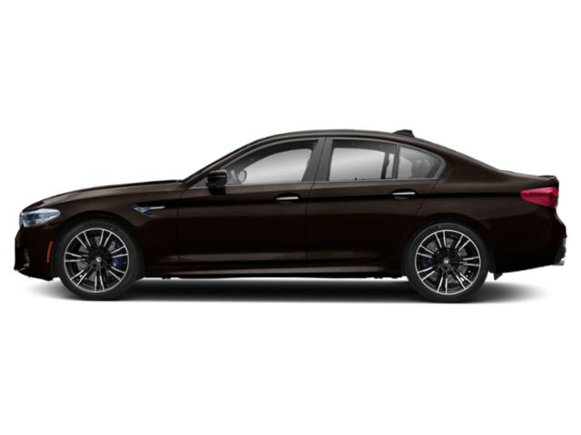 Almandine Brown Metallic 2019 BMW M5 Pictures M5 Sedan photos side view