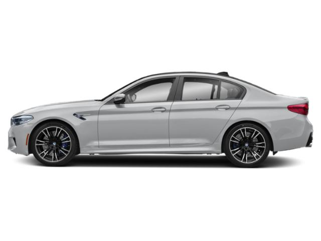 Rhodonite Silver Metallic 2019 BMW M5 Pictures M5 Sedan photos side view