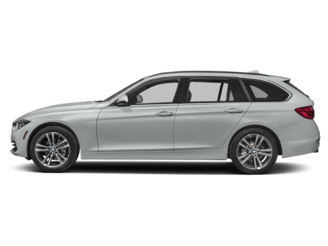 Glacier Silver Metallic 2019 BMW 3 Series Pictures 3 Series 330i xDrive Sports Wagon photos side view