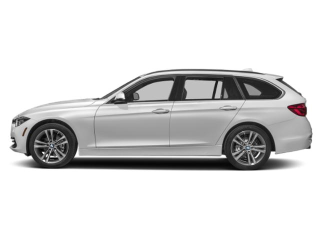 Mineral White Metallic 2019 BMW 3 Series Pictures 3 Series 330i xDrive Sports Wagon photos side view