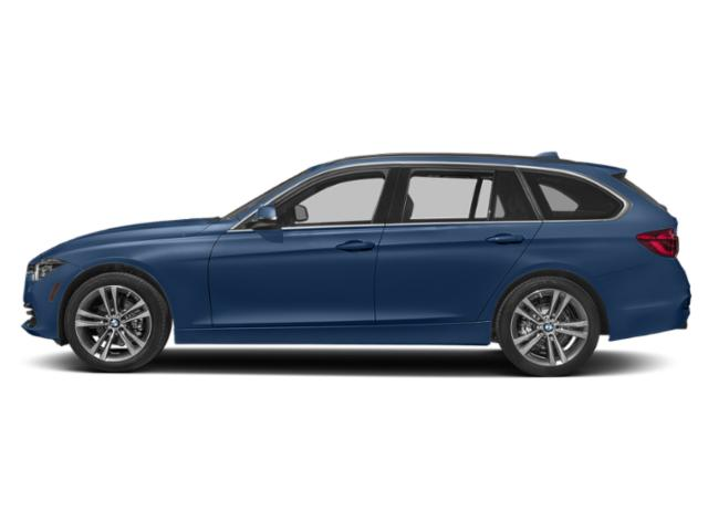 Estoril Blue Metallic 2019 BMW 3 Series Pictures 3 Series 330i xDrive Sports Wagon photos side view