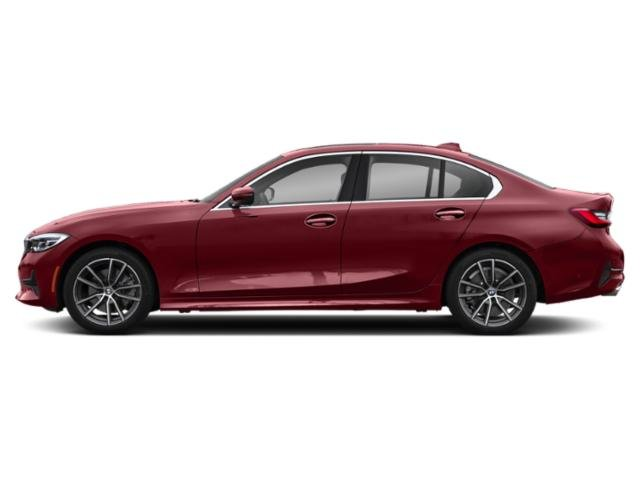 Melbourne Red Metallic 2019 BMW 3 Series Pictures 3 Series 330i Sedan photos side view