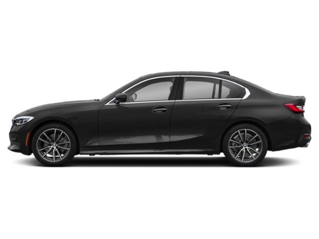 Jet Black 2019 BMW 3 Series Pictures 3 Series 330i Sedan photos side view