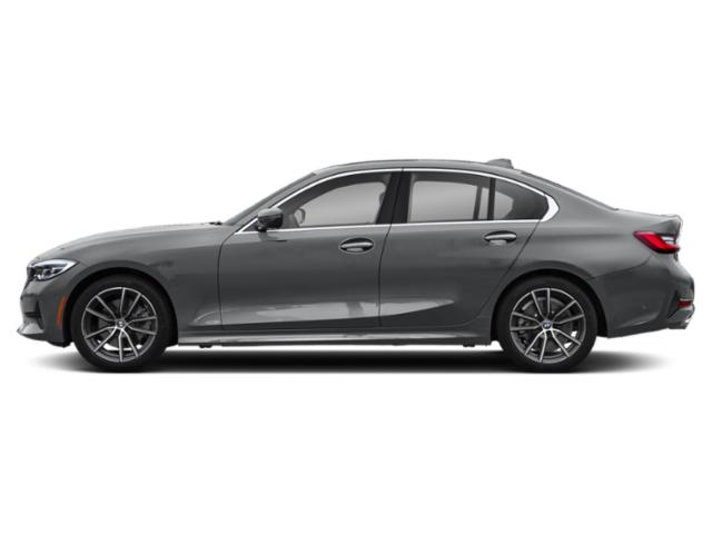 Mineral Gray Metallic 2019 BMW 3 Series Pictures 3 Series 330i Sedan photos side view