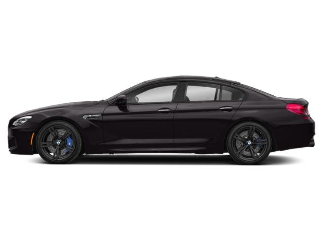 Ruby Black Metallic 2019 BMW M6 Pictures M6 Gran Coupe photos side view