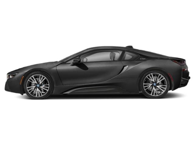 Sophisto Gray Metallic w/Frozen Gray Accent 2019 BMW i8 Pictures i8 Coupe photos side view