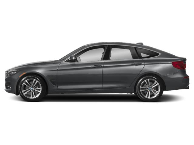 Mineral Gray Metallic 2019 BMW 3 Series Pictures 3 Series 340i xDrive Gran Turismo photos side view