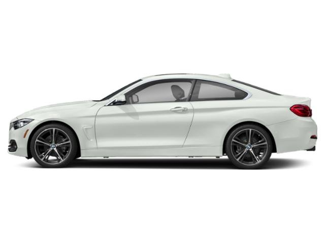 Alpine White 2019 BMW 4 Series Pictures 4 Series 430i Coupe photos side view