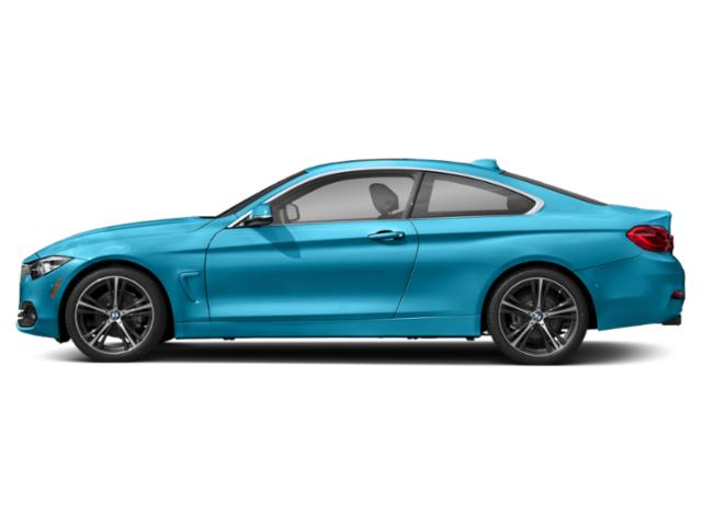 Snapper Rocks Blue Metallic 2019 BMW 4 Series Pictures 4 Series 430i Coupe photos side view