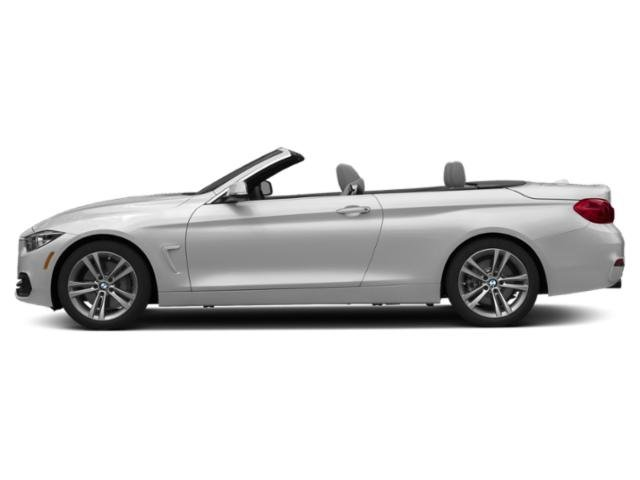 Mineral White Metallic 2019 BMW 4 Series Pictures 4 Series 440i Convertible photos side view