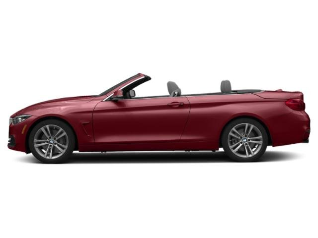 Melbourne Red Metallic 2019 BMW 4 Series Pictures 4 Series 440i Convertible photos side view