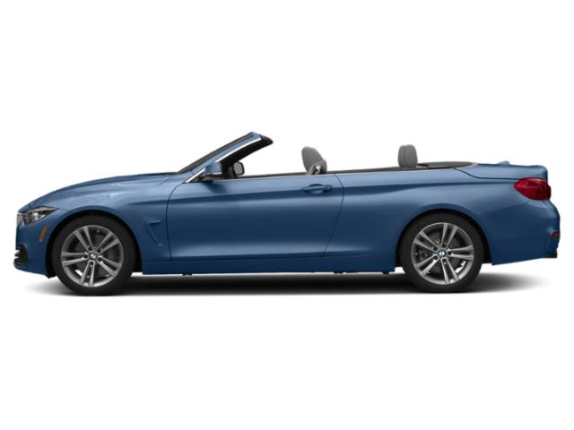 Estoril Blue Metallic 2019 BMW 4 Series Pictures 4 Series 440i Convertible photos side view