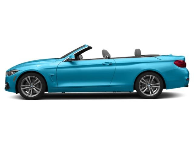 Snapper Rocks Blue Metallic 2019 BMW 4 Series Pictures 4 Series 440i Convertible photos side view