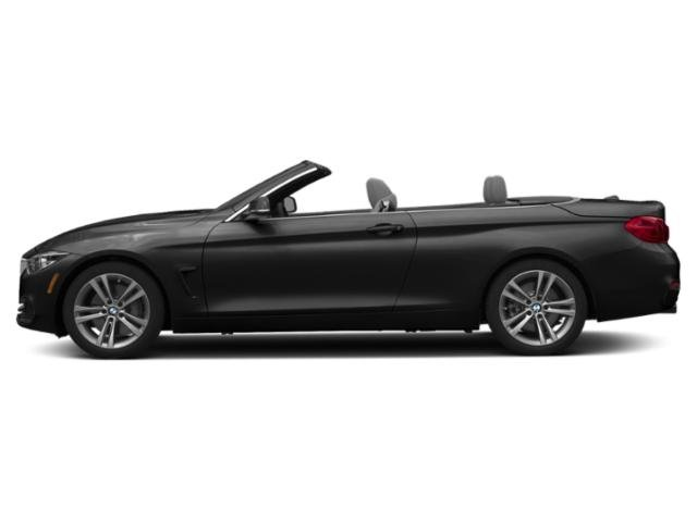 Jet Black 2019 BMW 4 Series Pictures 4 Series 440i Convertible photos side view