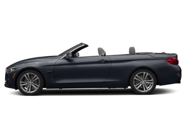 Imperial Blue Metallic 2019 BMW 4 Series Pictures 4 Series 440i Convertible photos side view